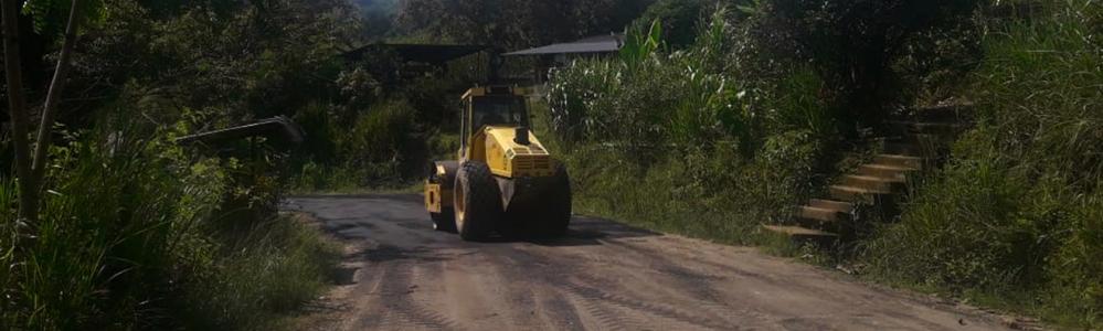 BACHEO DE LA VIA QUE UNE AL CENTRO DEL CANTON PORTOVELO